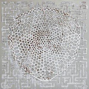 Aris de Bakker, Twee structuren, 2011, 500